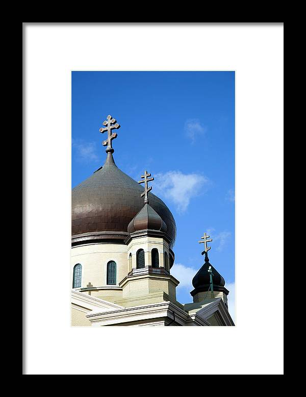 Outdoors Framed Print featuring the photograph Orthodox Church by Snap Decision