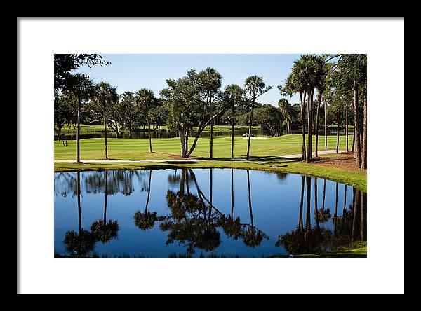 Osprey Point Golf Pond by Christy Cox