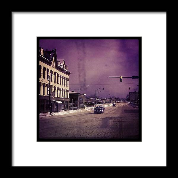 Framed Print featuring the photograph Oswego by Altagrace Gaspard