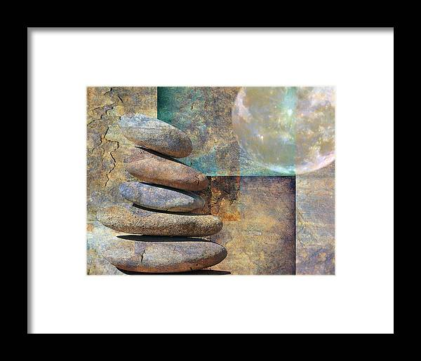 Stones Framed Print featuring the photograph Other Worlds by Stephen Warren