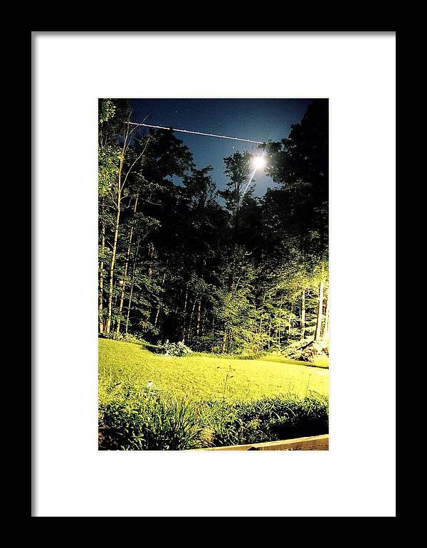 Framed Print featuring the photograph Ottawa Night by Matthew Barton