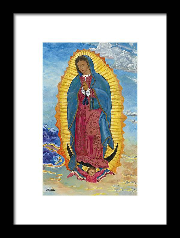 Our Lady Of Guadalupe New Dawn Framed Print By Mark Robbins