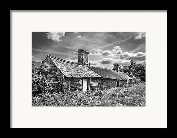 Outbuildings Framed Print featuring the photograph Outbuildings. by Gary Gillette