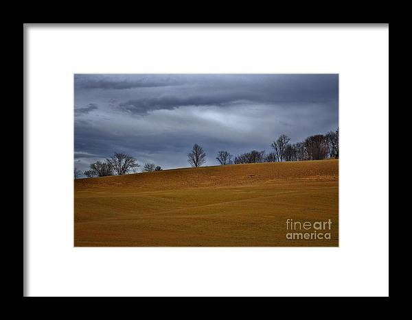 Farmland Framed Print featuring the photograph Outside Chester Ny 3 by Chet B Simpson