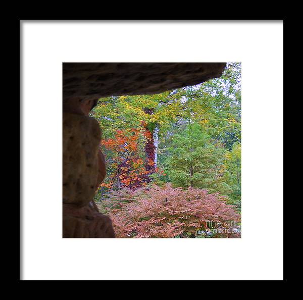 Tunnel Framed Print featuring the photograph Outside The Tunnel by Scott B Bennett