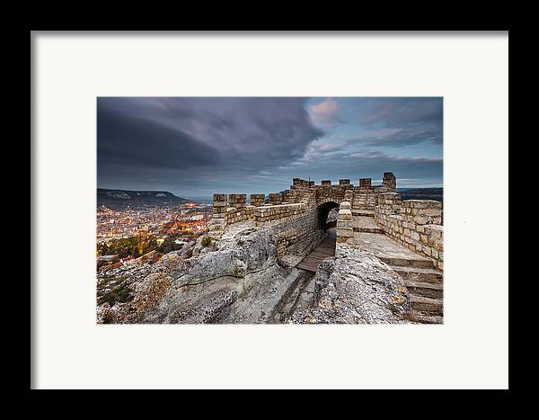 Bulgaria Framed Print featuring the photograph Ovech Fortress by Evgeni Dinev