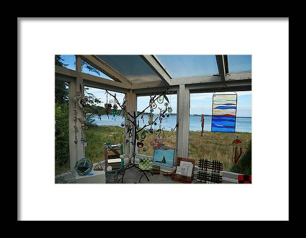 View Framed Print featuring the photograph Over The Lagoon by Harold Hildred