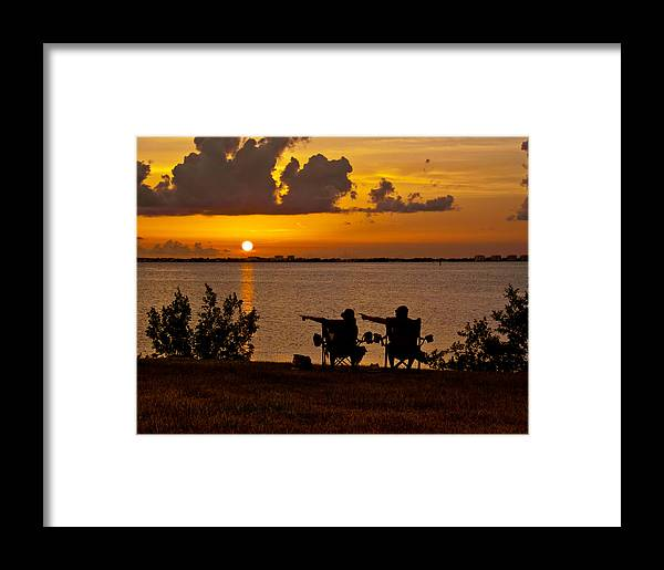 Sarasota Framed Print featuring the photograph Over There by Gil Weiner