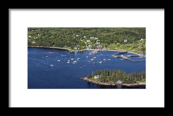America Framed Print featuring the photograph Owls Head, Maine Me by Dave Cleaveland