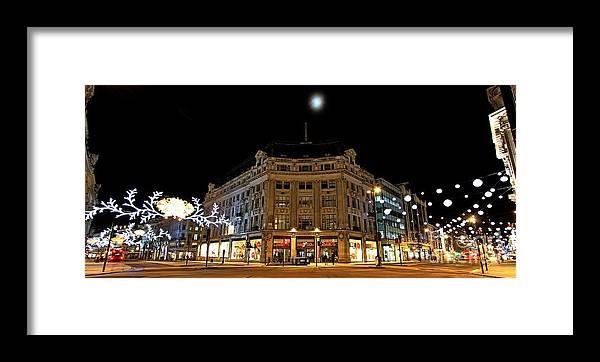 London  Framed Print featuring the photograph Oxford/regent Street by Mariusz Czajkowski