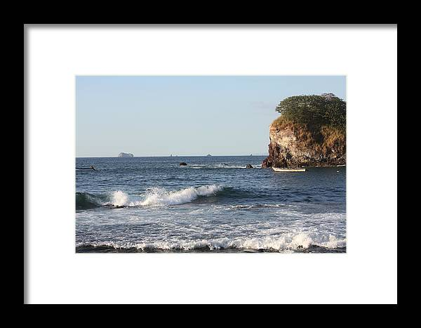 Ocean Framed Print featuring the photograph Pacific View by Paula Thomas
