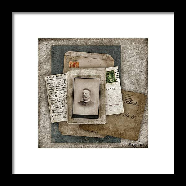 Nostalgia Framed Print featuring the photograph Page 63 by Carol Leigh