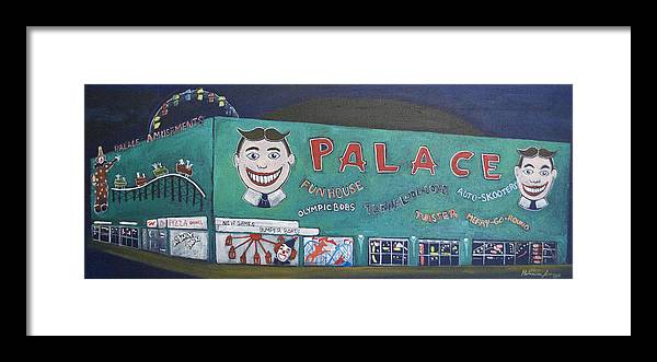 Tillie Framed Print featuring the painting Palace 2013 by Patricia Arroyo