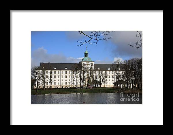 Palace Framed Print featuring the photograph Palace Gottorf - Schleswig by Christiane Schulze Art And Photography
