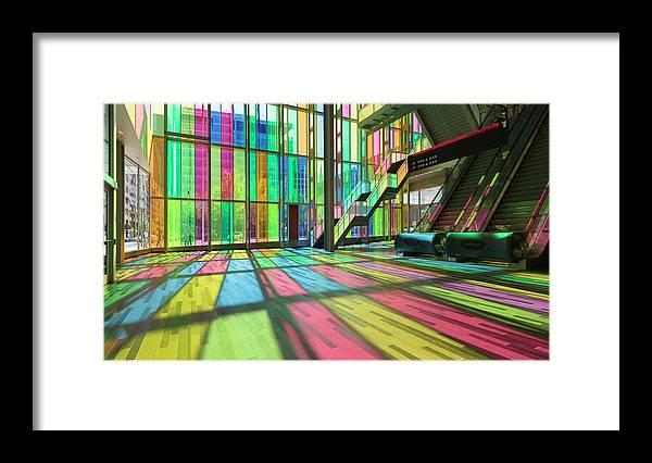 Palais Des Congres De Montreal Framed Print By David Madison