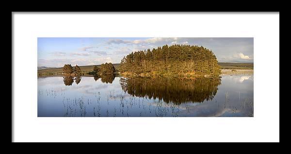 Panoramic Framed Print featuring the photograph Panoramic Landscape by Georgi Djadjarov