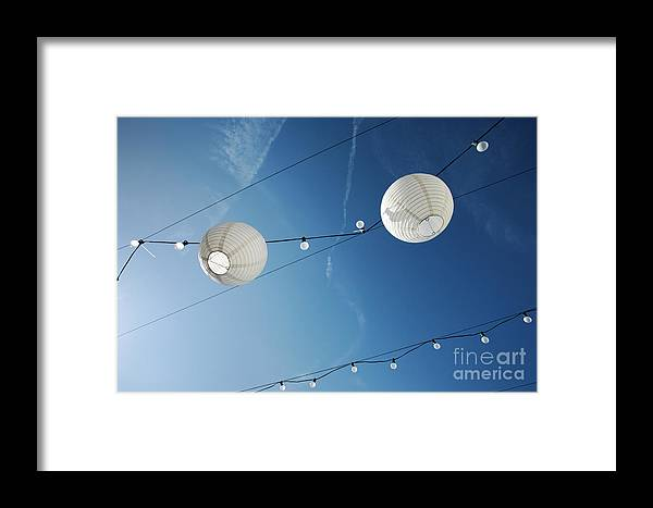 Sky Framed Print featuring the photograph Paper Lanterns by Konstantin Sutyagin