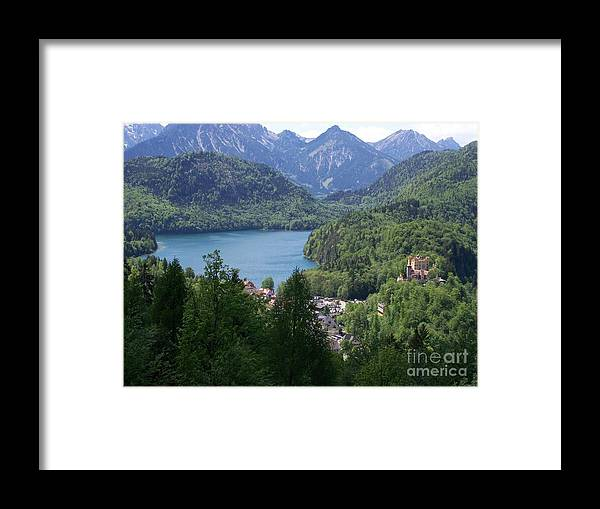 Bavaria Framed Print featuring the digital art Paradise by Edna Weber