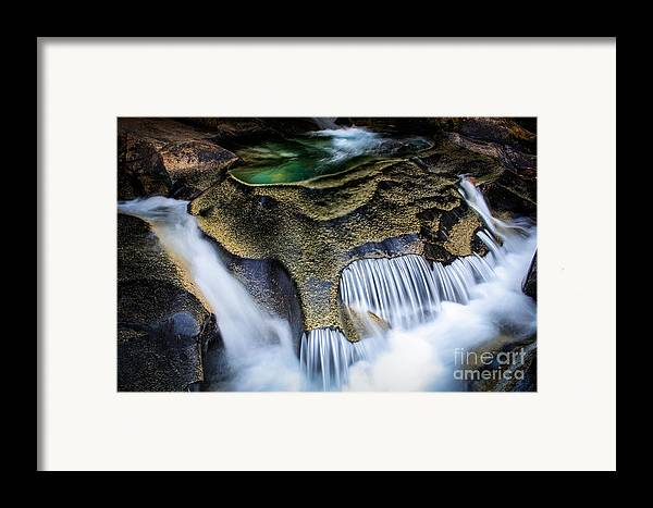America Framed Print featuring the photograph Paradise Rocks by Inge Johnsson