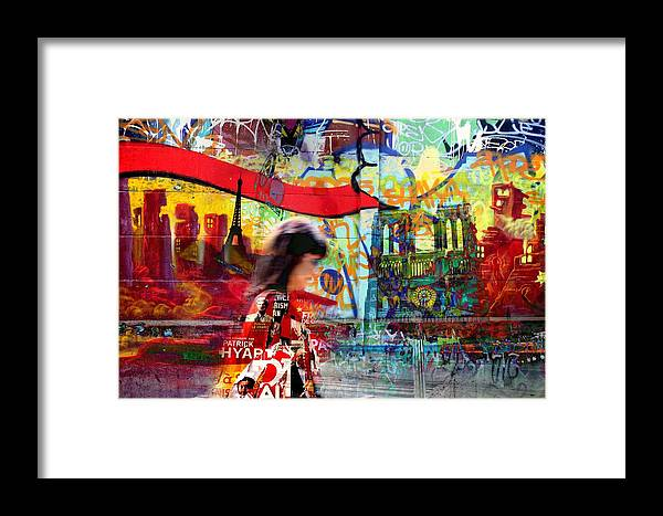 Paris Framed Print featuring the photograph Paris 11 by Jean Schweitzer