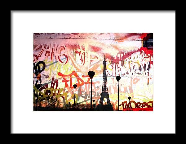 Paris Framed Print featuring the photograph Paris 15 by Jean Schweitzer