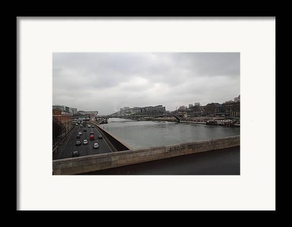 Paris Framed Print featuring the photograph Paris France - Street Scenes - 011386 by DC Photographer