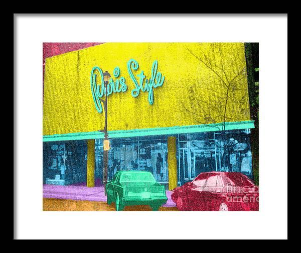 Paris on Chestnut by Jost Houk