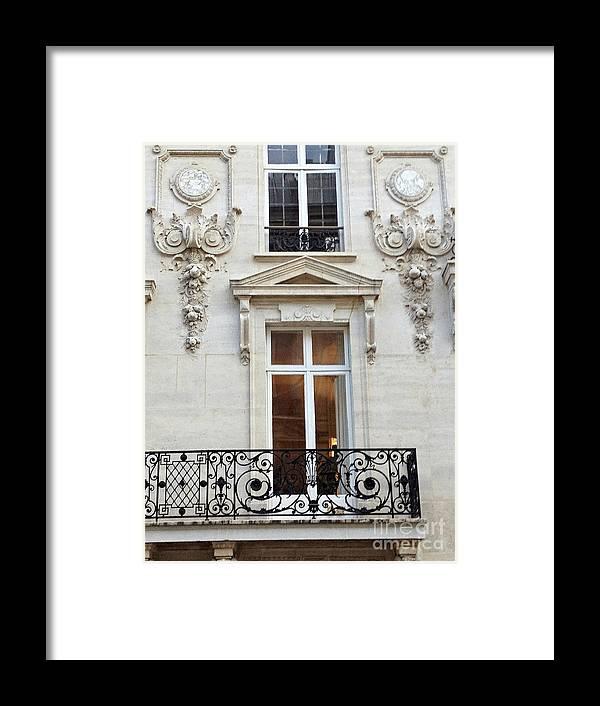 Paris Windows Lace Balconies Art Nouveau - Romantic Paris Window ...