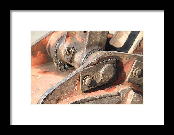 Parts Framed Print featuring the photograph Parts by Terri Thompson