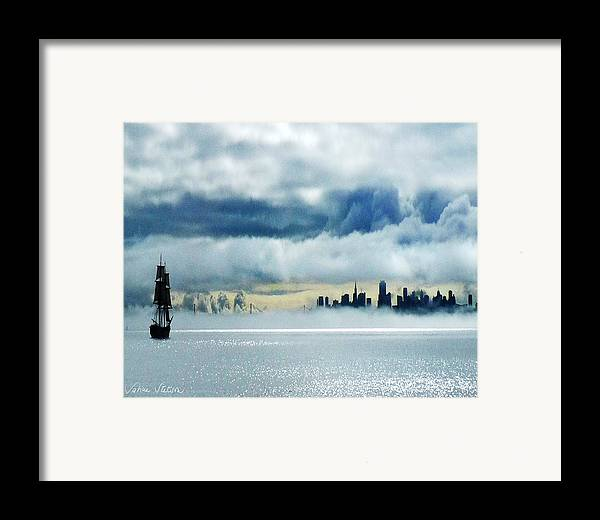 San Francisco Framed Print featuring the photograph Passage by Sabine Stetson
