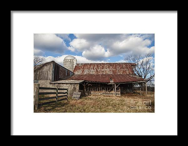 Farm Framed Print featuring the photograph Passed By by Terry Rowe
