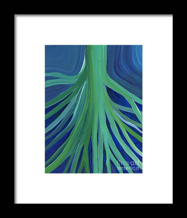 First Star Framed Print featuring the painting Past Lives By Jrr by First Star Art
