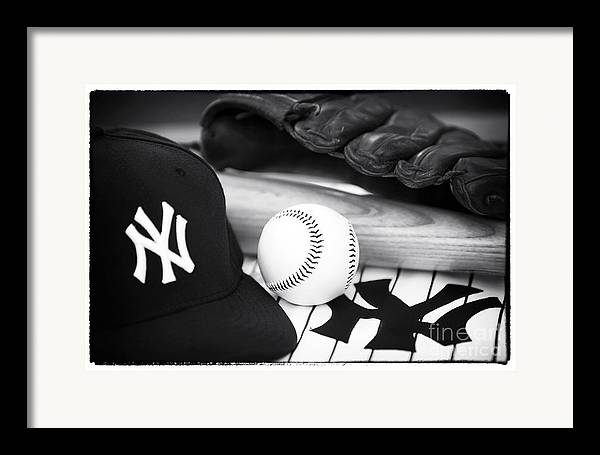 Pastime Essentials Framed Print featuring the photograph Pastime Essentials by John Rizzuto