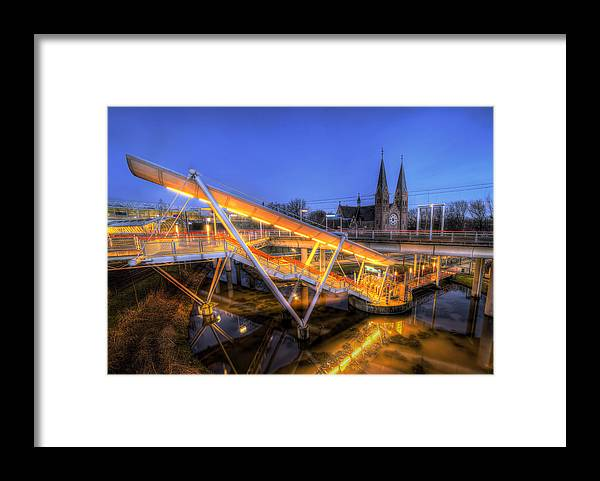 Church Framed Print featuring the photograph Pastor Laan by Ik Henkle
