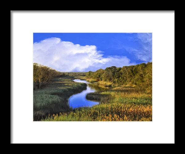Meadow Framed Print featuring the painting Pastoral by Dominic Piperata