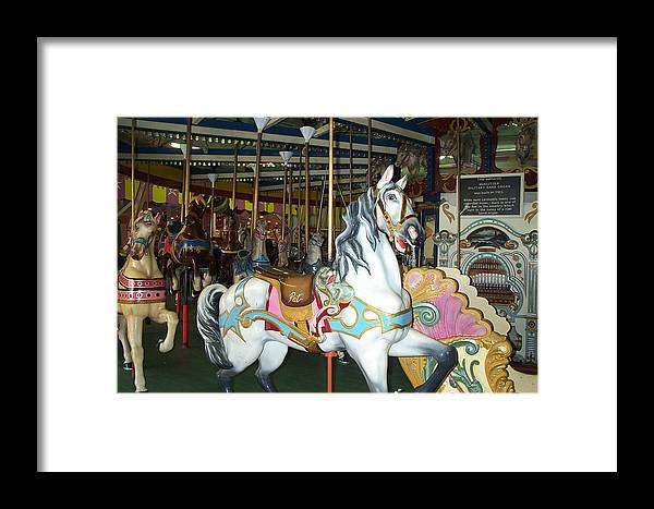 Pat Framed Print featuring the photograph Pat by Barbara McDevitt