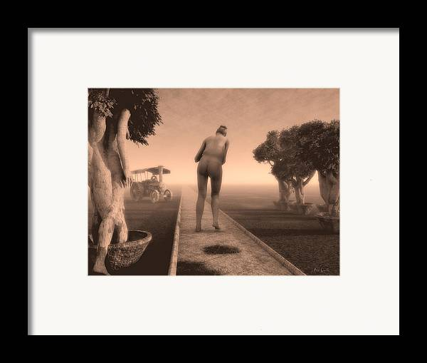 Life Framed Print featuring the photograph Path In Life by Bob Orsillo