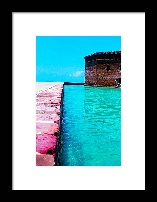 Water Framed Print featuring the photograph Paths On The Water by Stephie Carr