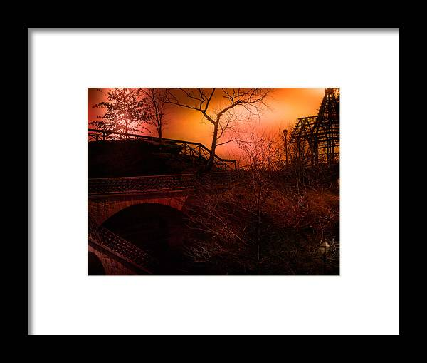 Decore Framed Print featuring the photograph Pathways To Home by Kathleen Foy