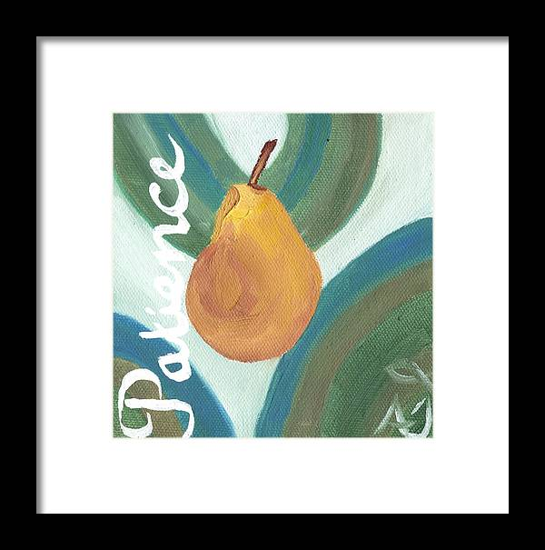 Patience Framed Print featuring the painting Patience by Amber Joy Eifler