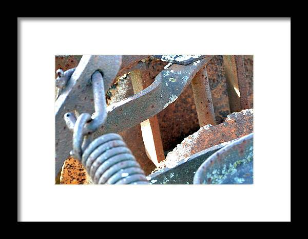 Farm Framed Print featuring the photograph Patina by Kim Hymes