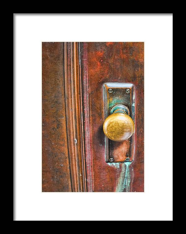Patina Framed Print featuring the photograph Patina by Larry Fry