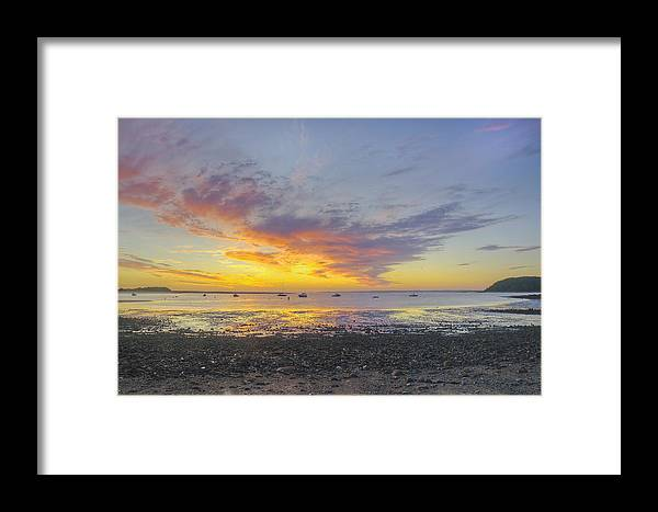Ipswich Framed Print featuring the photograph Pavilion Sunrise by David Stone