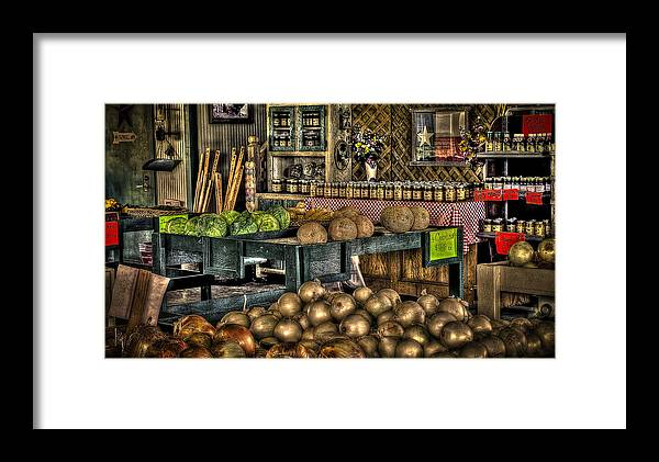 Pavlock Farms Framed Print featuring the photograph Pavlock Farms by David Morefield