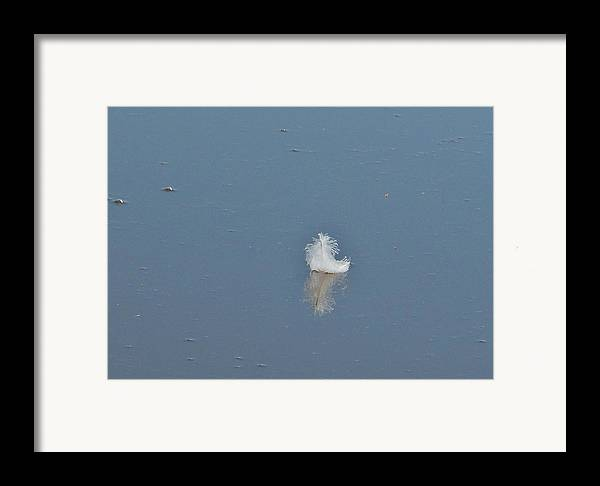 River Framed Print featuring the photograph Peace by Alison Richardson-Douglas