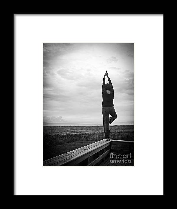Morning Framed Print featuring the photograph Peace by Edward Fielding