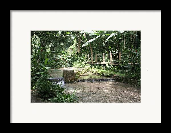 Landscape Framed Print featuring the photograph Peaceful by Dervent Wiltshire