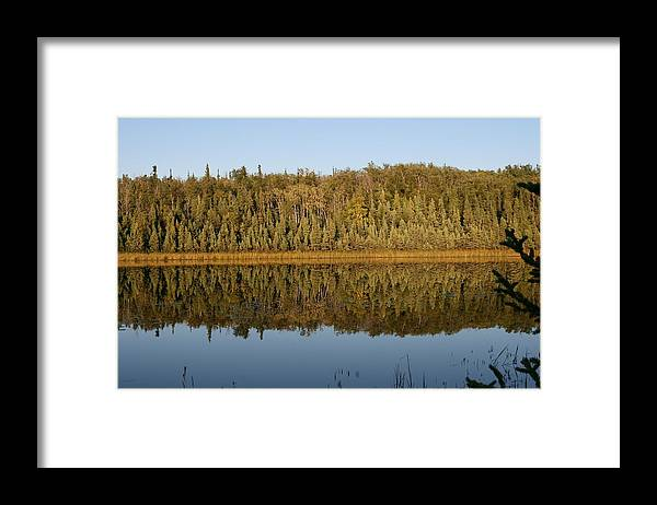Alaska Framed Print featuring the photograph Peaceful Reflection by Al Sheldon