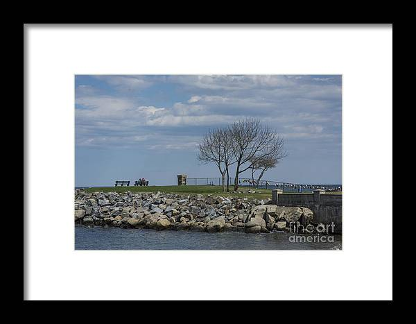 Sky Framed Print featuring the photograph Peaceful by Ruth H Curtis