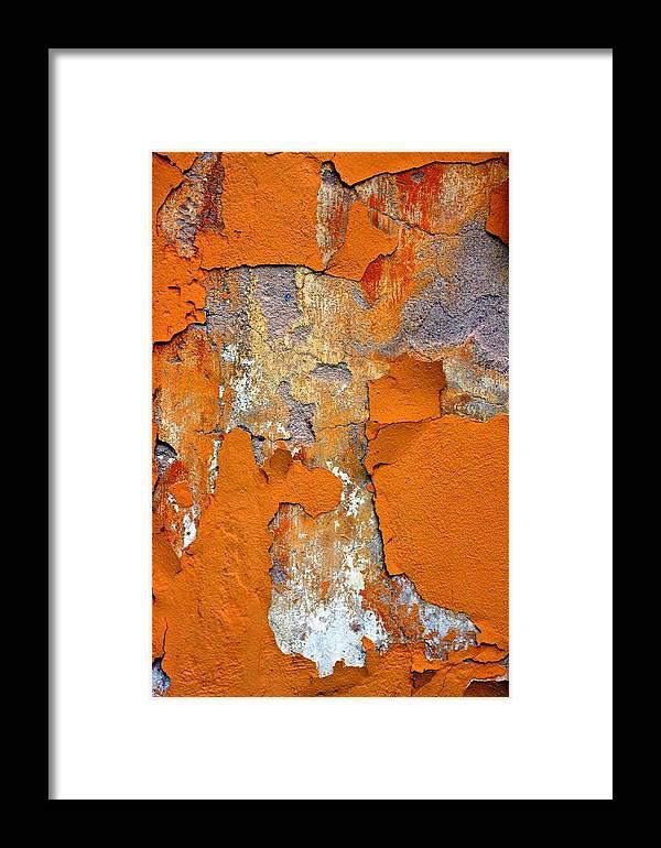 Marcia Lee Jones Framed Print featuring the photograph Pedimento by Marcia Lee Jones
